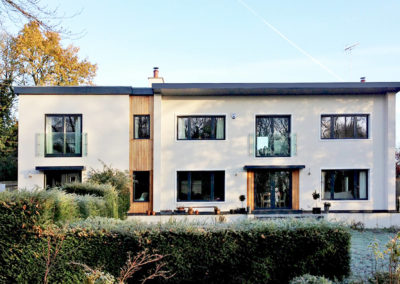 Interior design and home extension transform a 1950s Berkshire home