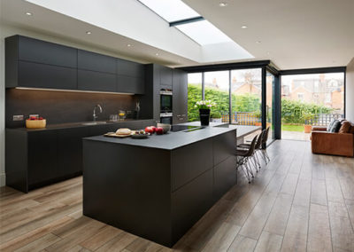 Contemporary conversion of Victorian home transforms property